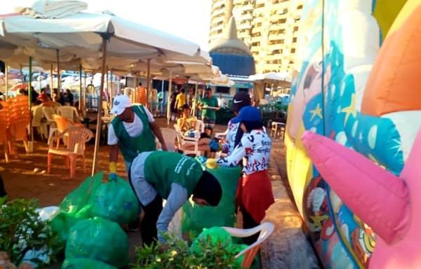 البيئة: تنفيذ حملة لتنظيف الشواطئ بالإسكندرية بطول حوالى ٥ كيلو متر احتفالا باليوم العالمى لتنظيف الشواطئ